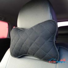 Подушка автомобильная черная