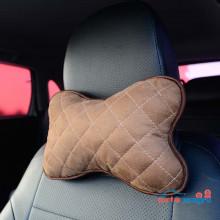 Подушка автомобильная коричневая