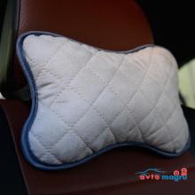 Подушка автомобильная светло-серая