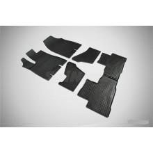 Резиновые коврики Сетка для Acura MDX 2014-н.в.
