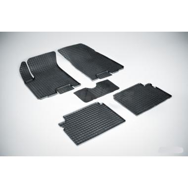 Резиновые коврики Сетка для Chevrolet Aveo I 2003-2011