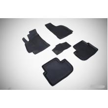 Резиновые коврики с высоким бортом для Chevrolet Lanos 2002-2009