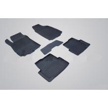 Резиновые коврики с высоким бортом для Ravon R4 2016-н.в.