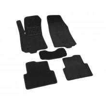 Текстильные Коврики В Салон Chevrolet Aveo 2011-> (Черный) 1612-RIO-15N