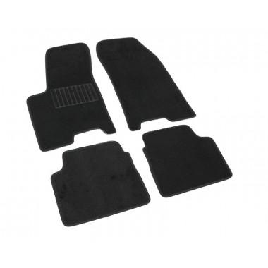 Текстильные Коврики В Салон Chevrolet Aveo 2003-> (Черный) 1601-UNF3-14N