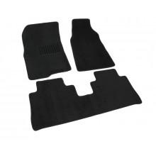 Текстильные Коврики В Салон Chevrolet Captiva 2003-> (Чёрный) 1603-RIO-13N
