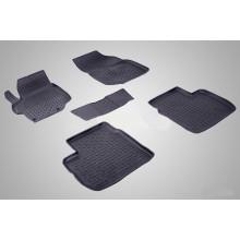 Резиновые коврики с высоким бортом для Citroen C-Elysse 2013-н.в.
