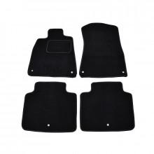 Текстильные Коврики В Салон Citroen DS4 2011-> (Черный) 1811-RIO-14P