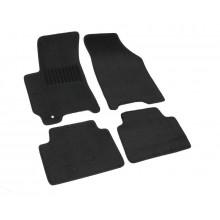 Текстильные Коврики В Салон Chevrolet Lacetti 2004-2013/Daewoo Gentra 2013-> (Черные) 1606-RIO-14M