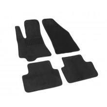Текстильные Коврики В Салон Chevrolet Lanos/Daewoo Sens 2005-2009 (Черный) 1607-UNF3-14N