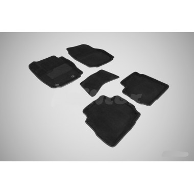 3D коврики для Ford Mondeo IV (овальный крепеж) 2007-2010