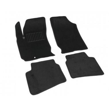 Hyundai I30 2009-> Коврики Текстильные (Черный) 2409-UNF3-14M