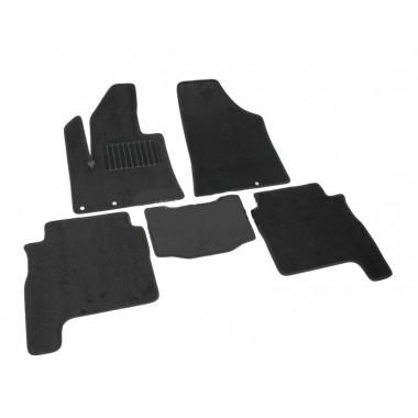 Hyundai Santa Fe 2010-> Коврики Текстильные (Черный) 2426-UNF3-15M