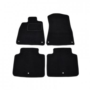 Infiniti QX 60 2014-> Коврики Текстильные (Черный) 2510-UNF3-13M