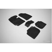 3D коврики для KIA Cerato 2013-н.в.