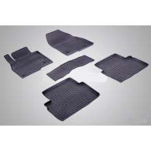 Резиновые коврики с высоким бортом для Mazda 3 (BM) 2013-н.в.