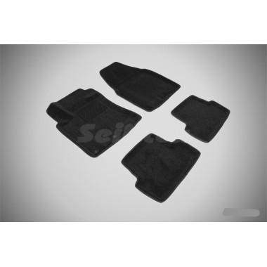 3D коврики для Nissan Qashqai 2007-2014