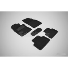 3D коврики для Nissan Qashqai II (английская сборка) 2014-2016