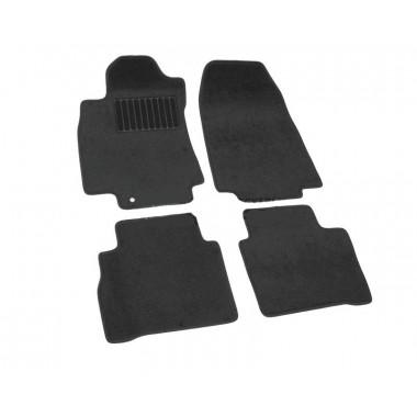 Nissan Tiida HB 2007-> Коврики Текстильные (Черный) 3723-UNF3-14M