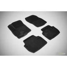 3D коврики для Renault Sandero 2010-2014
