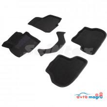 3D коврики для Seat Leon II 2005-2012