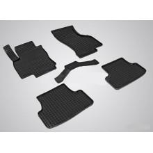 Резиновые коврики Сетка для Seat Leon III 2013-н.в.