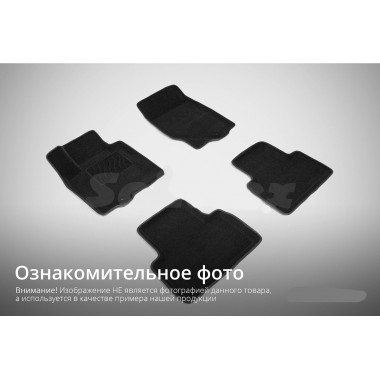 3D коврики для Suzuki SX4 II 2013-н.в.