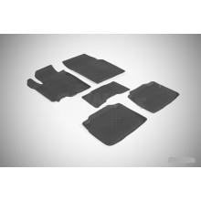 Резиновые коврики с высоким бортом для Suzuki SX4 II 2013-н.в.