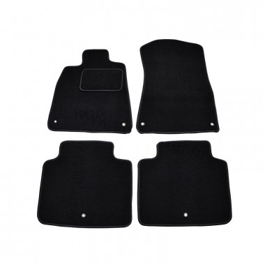 ВАЗ Largus 2012-> Коврики Текстильные (Т.Серый) 3010-RIO-24P