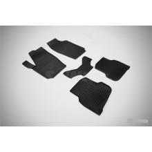 Резиновые коврики Сетка для Volkswagen Polo Sedan 2010-нв