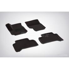 3D коврики для Volkswagen Amarok (не подходят для комплектации с пластиковым полом) 2009-н.в.