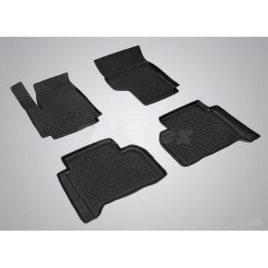 Резиновые коврики с высоким бортом для Volkswagen Amarok 2010-н.в.