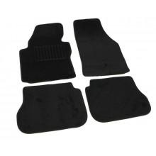 Текстильные Коврики В Салон VW Caddy 2004-нв (Черный) 5001-RIO-14N
