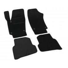 Текстильные Коврики В Салон VW Polo Hatch 2010-> (Черный) 5010-RIO-14P