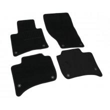 Текстильные Коврики В Салон VW Touareg 2010->/Porshe Cayenne 2010-> (Черные) 5023-RIO-14P