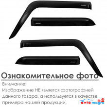 Ветровики Voron Glass (дефлекторы) 1